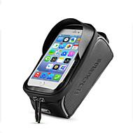 お買い得  サイクリング&自転車用アクセサリー-携帯電話バッグ 6 インチ タッチスクリーン, 防水, 反射 サイクリング のために iPhone 8/7/6S/6 / iPhone X / Samsung Galaxy S8+ / Note 8 ブラック / 携帯用