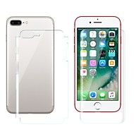 abordables Protectores de Pantalla para iPhone 8 Plus-Protector de pantalla Apple para iPhone 8 Plus Hidrogel de TPU 2 pcs Protector de Pantalla Posterior y Frontal Anti-Huellas Anti-Arañazos