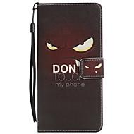 Недорогие Чехлы и кейсы для Galaxy Note-Кейс для Назначение SSamsung Galaxy Note 8 Бумажник для карт со стендом Флип С узором Чехол Кот Мультипликация Твердый Кожа PU для Note 8