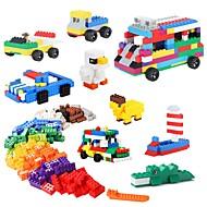 お買い得  おもちゃ & ホビーアクセサリー-ブロックおもちゃ 500pcs 方形 ストレスや不安の救済 減圧玩具 クラシックテーマ おもちゃ おもちゃ ギフト