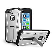 Недорогие Кейсы для iPhone 8-Кейс для Назначение Apple iPhone 8 iPhone 8 Plus Защита от удара со стендом Кейс на заднюю панель броня Твердый Силикон для iPhone 8