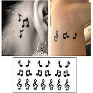 abordables Tatuajes Temporales-Adhesivo / Pegatina tatuaje brazo Los tatuajes temporales 10 pcs Serie de dibujos animados Artes de cuerpo