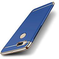 お買い得  携帯電話ケース-ケース 用途 Xiaomi Mi 6X Mi 5X メッキ仕上げ つや消し バックカバー ソリッド ハード PC のために Xiaomi Mi Note 2 Xiaomi Mi Mix 2 Xiaomi Mi 6X Mi 6 Plus Xiaomi Mi 6 Xiaomi