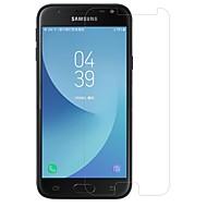 Недорогие Защитные пленки для Samsung-Защитная плёнка для экрана для Samsung Galaxy J3 (2017) Закаленное стекло 1 ед. Защитная пленка для экрана Защита от царапин Уровень
