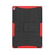 tanie Etui i pokrowce na iPada-Kılıf Na Apple iPad 10.5 iPad Pro 9.7 Odporne na wstrząsy Z podpórką Zbroja Czarne etui Zbroja Twarde PC na iPad Mini 4 iPad Mini 3/2/1