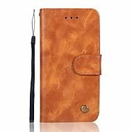 お買い得  携帯電話ケース-ケース 用途 Huawei Mate 10 Mate 10 lite カードホルダー ウォレット フリップ 磁石バックル フルボディーケース ソリッド ハード PUレザー のために Mate 10 lite Mate 10 pro Mate 10