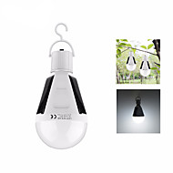 preiswerte Taschenlampen, Laternen & Lichter-12W Solar LED Bulb Lantern Rechargeable Sensor Charge Laternen & Zeltlichter LED 1 Beleuchtungsmodus Tragbar / Leichtes Gewicht Camping /
