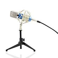 abordables Micrófonos-KEBTYVOR BM700+PC03 Con Cable Micrófono Micrófono Condensador Micrófono de Mano Para Micrófono de Ordenador