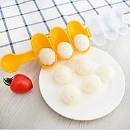 お買い得  キッチン用小物-キッチンツール プラスチック シンプル / クリエイティブキッチンガジェット DIYの金型 ライスのため 2本