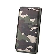 preiswerte Handyhüllen-Hülle Für Huawei P10 P10 Lite Kreditkartenfächer mit Halterung Flipbare Hülle Ganzkörper-Gehäuse Solide Hart PU-Leder für P10 Lite P10