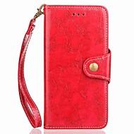 Недорогие Чехлы и кейсы для Galaxy Note-Кейс для Назначение SSamsung Galaxy Note 8 Note 5 Бумажник для карт Кошелек со стендом Флип Магнитный Чехол Однотонный Твердый Кожа PU для