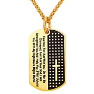お買い得  -男性用 / 女性用 幾何学模様 ペンダントネックレス  -  ステンレス鋼 ファッション ゴールド, シルバー 55 cm ネックレス 用途 日常