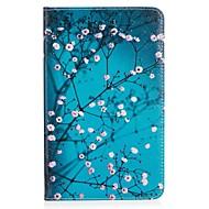 preiswerte Tablet Zubehör-Hülle Für Amazon Kindle Fire 7(5th Generation, 2015 Release) Kreditkartenfächer Geldbeutel mit Halterung Muster Ganzkörper-Gehäuse Blume
