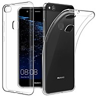お買い得  携帯電話ケース-ケース 用途 Huawei P10 P10 Plus 超薄型 透明体 バックカバー ソリッド ソフト TPU のために P10 Plus P10 Lite P10 Huawei P9 Plus Huawei P9 Lite Huawei P9 P8 Lite (2017)