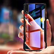 お買い得  携帯電話ケース-ケース 用途 Huawei P20 / P20 Pro 耐衝撃 / クリア バックカバー ソリッド ソフト シリコーン のために Huawei P20 / Huawei P20 Pro / Huawei P20 lite