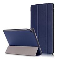 お買い得  携帯電話ケース-ケース 用途 Asus ZenPad 10 Z301MF / ZenPad 10 Z300CL 磁石バックル フルボディーケース ソリッド ハード PUレザー のために ASUS ZenPad 10 Z301ML / ASUS ZenPad 10 Z301MFL /
