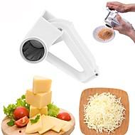 お買い得  キッチン用小物-キッチンツール ステンレス+ABS樹脂 クリエイティブキッチンガジェット ピーラー&おろし金 チョコレートのための / チーズのための 1個