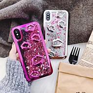 Недорогие Кейсы для iPhone 8 Plus-Кейс для Назначение Apple iPhone X / iPhone 8 / iPhone 8 Plus С узором / Сияние и блеск Кейс на заднюю панель Сияние и блеск Мягкий ТПУ для iPhone X / iPhone 8 Pluss / iPhone 8