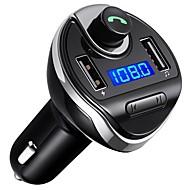 ราคาถูก รถยนต์อิเล็กทรอนิกส์-T20 บลูทูธ 3.0 ชุดอุปกรณ์บลูทูธใช้ในรถยนต์ เรื่องส่งสัญญาณFM แบบสากล
