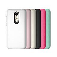tanie Etui na telefony-Kılıf Na Xiaomi Redmi 5 Plus Odporne na wstrząsy Czarne etui Jendolity kolor Zbroja Twarde PC na Xiaomi Redmi 5 Plus