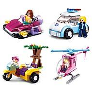 preiswerte Spielzeuge & Spiele-Bausteine 283pcs Zeichentrick / Freund-Serie Kreativ Geschenk