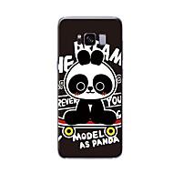 Недорогие Чехлы и кейсы для Galaxy S9-Кейс для Назначение SSamsung Galaxy S9 Plus / S9 С узором Кейс на заднюю панель Мультипликация Мягкий ТПУ для S9 / S9 Plus / S8 Plus