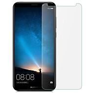 お買い得  スクリーンプロテクター-スクリーンプロテクター のために Huawei Mate 10 lite 強化ガラス 1枚 スクリーンプロテクター 指紋防止 / 傷防止 / 超薄型