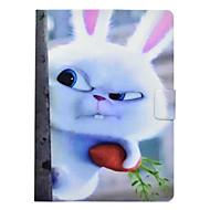 Недорогие Чехлы и кейсы для Galaxy Tab 3 10.1-Кейс для Назначение SSamsung Galaxy Tab 3 10.1 Бумажник для карт / Защита от удара / со стендом Чехол Животное Твердый Кожа PU для Tab 3 10.1