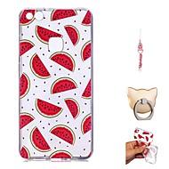 preiswerte Handyhüllen-Hülle Für Huawei P10 Lite / P9 Lite Transparent / Muster Rückseite Frucht Weich TPU für P10 Lite / P10 / Huawei P9 Lite