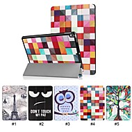 Case For Apple iPad Pro 10.5 with Stand / Ultra-thin Full Body Cases Word / Phrase / Animal / Eiffel Tower Hard PU Leather for iPad Pro 10.5