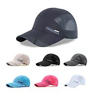 Χαμηλού Κόστους Αθλητικά ρούχα-Καπέλο Καλοκαίρι Γρήγορο Στέγνωμα / Ικανότητα να αναπνέει Πεζοπορία / Αναρρίχηση / Ταξίδι Γιούνισεξ Mesh Μονόχρωμο