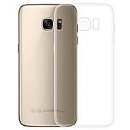 Недорогие Чехлы и кейсы для Galaxy S-Кейс для Назначение SSamsung Galaxy S7 Прозрачный Кейс на заднюю панель Однотонный Мягкий ТПУ для S7