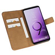 Case For Samsung Galaxy S9 S9 Plus Card Holder Wallet Flip Full Body Cases Solid Colored Hard PU Leather for S9 Plus S9 S8 Plus S8 S7