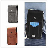 cheap Cell Phone Cases-Case For Samsung Galaxy S9 S9 Plus Card Holder Pouch Bag Solid Colored Hard Genuine Leather for S9 Plus S9 S8 Plus S8 S8 Edge S7 Active