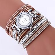 billige Bohemeure-Dame Armbåndsur Kinesisk Imiteret Diamant / Afslappet Ur PU Bånd Bohemisk / Mode Sort / Hvid / Blåt