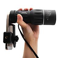abordables Binoculares-8X40mm Monocular Portátil / Visión nocturna BAK4 66/8000m Caza / Pesca / Camping / Senderismo / Cuevas ABS + PC