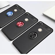 お買い得  携帯電話ケース-ケース 用途 Xiaomi Redmi 5A / Redmi 4a バンカーリング バックカバー ソリッド ソフト TPU のために Redmi Note 5A / Xiaomi Redmi Note 4X / Xiaomi Redmi 4X