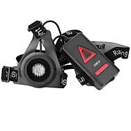 お買い得  -hkv®最新の屋外スポーツランニングライトは、夜間ランニング懐中電灯警告灯usb充電胸ランプ白い光トーチを導いた