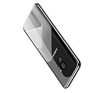 Недорогие Чехлы и кейсы для Galaxy S9 Plus-Кейс для Назначение SSamsung Galaxy S9 Plus / S9 Покрытие / Ультратонкий Кейс на заднюю панель Геометрический рисунок Мягкий ТПУ для S9 /