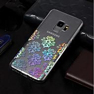 Недорогие Чехлы и кейсы для Galaxy S-Кейс для Назначение SSamsung Galaxy S9 / S9 Plus Покрытие / С узором Кейс на заднюю панель Кружева Печать Мягкий ТПУ для S9 Plus / S9 /