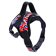 Dogs / Cats / Pets Harness Trainer / Walking / Adjustable / Retractable Leopard / Camouflage Color / Flag Nylon Red / Camouflage Color /