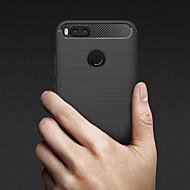 お買い得  携帯電話ケース-ケース 用途 Xiaomi Mi 5X / Mi 4s エンボス加工 バックカバー ソリッド ソフト TPU のために Xiaomi Mi 6X(Mi A2) / Xiaomi Mi 6 / Xiaomi Mi 5X / Xiaomi Mi 5s / Xiaomi Mi 4s