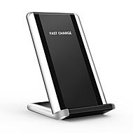 abordables Cargadores Wireless para iPhone-Cargador inalámbrico rápido 10w / 7.5w para iphone x iphone 8 8 más Samsung s8 plus s8 s9 note 8 google nexus 5/6/7 o receptor incorporado teléfono inteligente qi