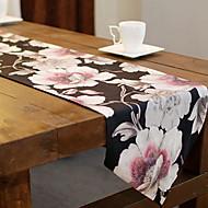 abordables Salvamanteles-Moderno CLORURO DE POLIVINILO / No tejido Cuadrado Juego de Mesa Floral / Bordado Decoraciones de mesa 1 pcs