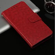 お買い得  携帯電話ケース-ケース 用途 Huawei P20 lite / P20 Pro カードホルダー / スタンド付き / フリップ フルボディーケース ソリッド ハード PUレザー のために Huawei P20 lite / Huawei P20 Pro / Huawei P20