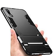 preiswerte Handyhüllen-Hülle Für Huawei P20 Pro P20 Stoßresistent mit Halterung Rückseite Rüstung Hart TPU für Huawei P20 lite Huawei P20 Pro Huawei P20 P10