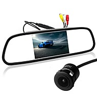cheap Automotive & Motorcycle-ZIQIAO 5 Inch TFT-LCD CCD Wired 170 Degree Car Rear View Kit Foldable Waterproof for Car