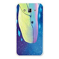 Недорогие Чехлы и кейсы для Galaxy J5(2016)-Кейс для Назначение SSamsung Galaxy J7 (2017) / J7 (2016) С узором Кейс на заднюю панель Мультипликация / Животное Мягкий ТПУ для J7