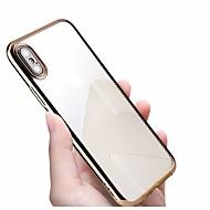 Недорогие Кейсы для iPhone 8 Plus-Кейс для Назначение Apple iPhone X / iPhone 8 Покрытие / Ультратонкий / Полупрозрачный Кейс на заднюю панель Полосы / волосы Мягкий ТПУ