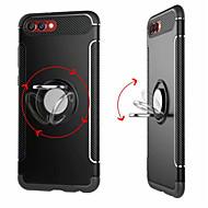 Недорогие Чехлы и кейсы для Huawei Honor-Кейс для Назначение Huawei Honor View 10(Honor V10) / Honor 7X Кольца-держатели Кейс на заднюю панель Однотонный Твердый ПК для Honor 9 /
